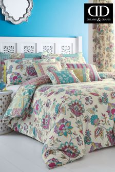 Marinelli Floral Duvet Cover And Pillowcase Set by D&D