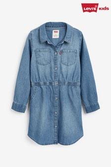 Levi's® Kids Denim Fit and Flare Dress
