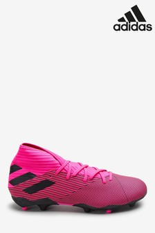 adidas Pink Hardwired Nemeziz Firm Ground Football Boots
