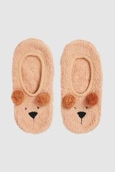 Тапочки-носки в виде медведя