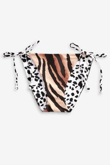 Reversible Tie Side Bikini Briefs