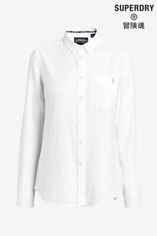 Superdry White Oxford Shirt