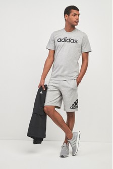 adidas Grey Badge Of Sport Shorts