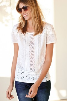 3d11b719b04 Women's White Tops | Elegant White Tops For Ladies | Next UK