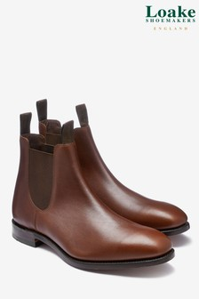 Loake Brown Waxy Apsley Boot