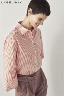 Mix/Kitri Studio Stripe Cotton Shirt