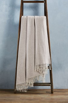 100% Cashmere Throw