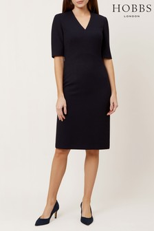 Hobbs Blue Kora Dress