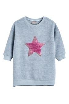 Sparkle Star Sweat Dress (9mths-7yrs)
