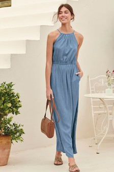 8e74a69c660 Tencel Maxi Dress