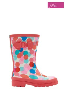 Joules Cream Fairy Welly