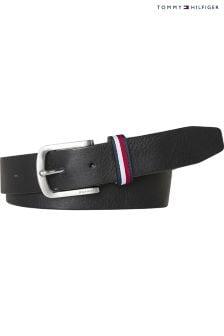 Tommy Hilfiger Leather Loop Detail Belt