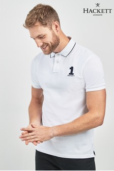 Hackett White Polo Shirt
