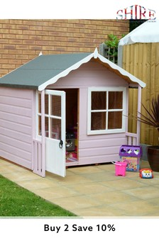 Meadow Assembled Painted Playhouse