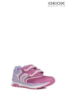 Geox Pink J Pavel Trainer