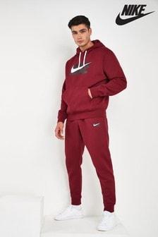 Флисовый спортивный костюм с логотипом Nike