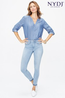 NYDJ Light Denim Ami Skinny Ankle Jean With Released Hem