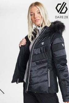 Dare 2b Black Dazzling Waterproof Ski Jacket