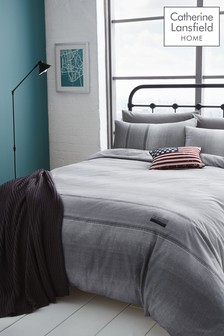 Catherine Lansfield Denim Bed Set