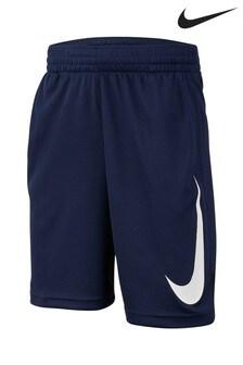 Nike Dri-FIT Navy Basketball Shorts