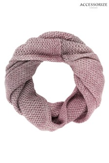 Accessorize Pink Ombre Space Dye Snood