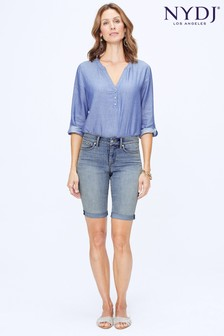 NYDJ Light Denim Briella Short