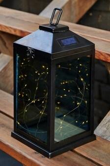 Solar Black Firefly Lantern