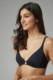 Non Pad Underwire Plunge Bikini Top