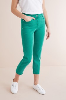 Soft Touch Cropped Jeans