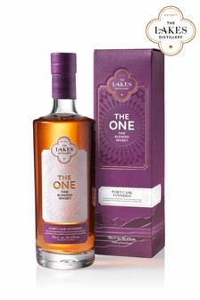 """""""The One"""" Port Cask Finished Blended Whisky by The Lakes Distillery"""
