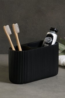 Textured Toothbrush Tidy