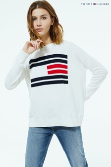 Tommy Hilfiger Essential Flag Jumper