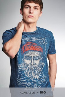 Fisherman Graphic T-Shirt