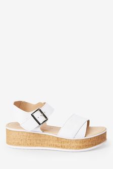 Cork Detail Flatforms