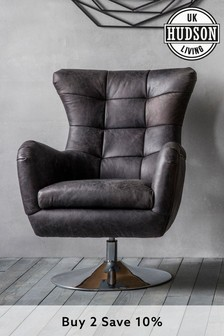 Bristol Swivel Chair By Hudson Living