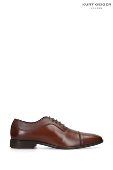 Kurt Geiger London Banbury Tan Brogue Shoes