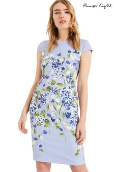 Phase Eight Blue Corrina Floral Dress