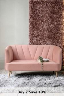 Callie Small Sofa With Light Legs