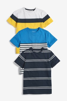 Colourblock T-Shirts Three Pack (3-16yrs)
