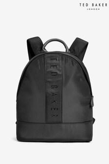 Ted Baker Black Satin Backpack
