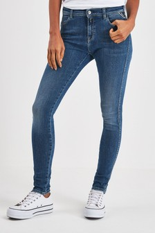 Replay® Stella High Waisted Super Skinny Fit Jean
