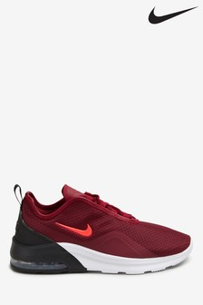 Nike Red Air Max Motion Trainers