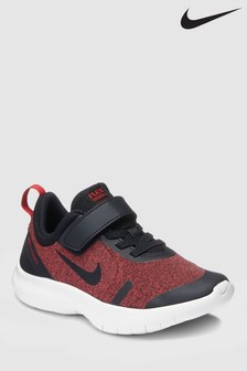 Nike Run Black/Red Flex Experience Junior