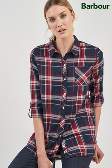 Barbour® Navy Check Shirt