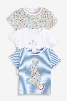 Bunny T-Shirts Three Pack (3mths-7yrs)
