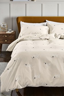 Dalmation Print Duvet Cover And Pillowcase Set