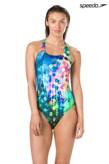 Speedo® Multi Flare Powerback Swimsuit