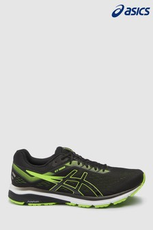 Asics Black/Green GT1000 7 Trainers