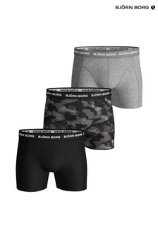 Bjorn Borg Black Shadeline Sammy Shorts