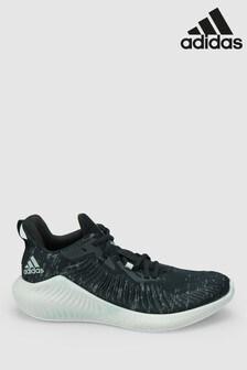 adidas Run Black Parley AlphaBounce Trainers